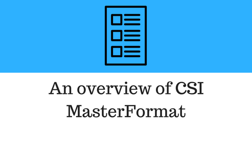overview-of-csi-masterformat